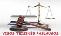 Visos teisinės paslaugos