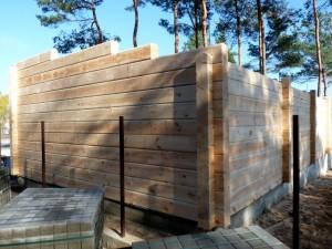 Rąstinių namų gamyba ir statyba
